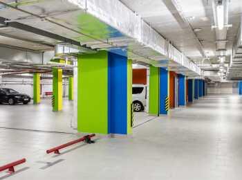 Подземный паркинг на 90 машиномест